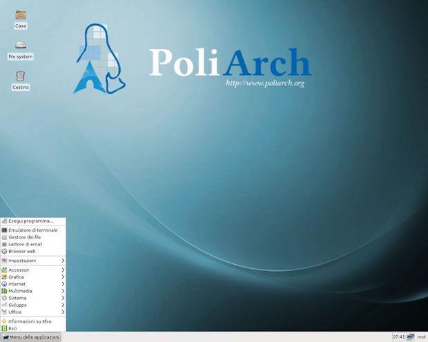 PoliArch restauração de sistema