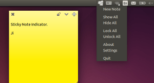 Como instalar Sticky Notes Indicator no Ubuntu e derivados