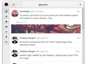 Instale o cliente para Twitter Corebird no Ubuntu