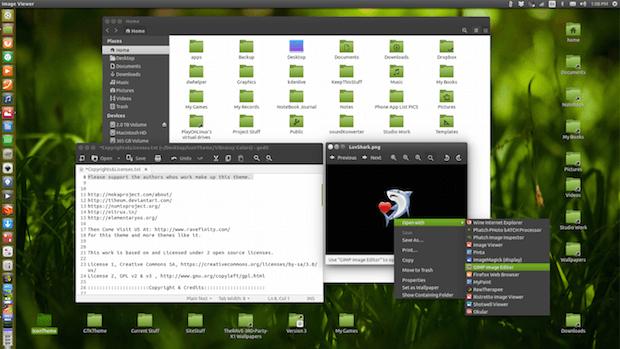 VBC Colors ss2 - Instalando o pacote de ícones Vibrancy Colors no Debian, Ubuntu e derivados