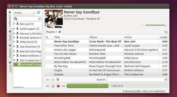 Como instalar a versão mais recente do Exaile Music Player no Ubuntu 14.04