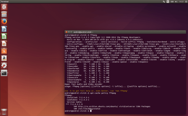 How to install the latest version of FFmpeg on Linux Debian, Ubuntu and Fedora