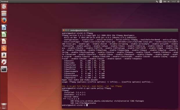 ffmpeg no ubuntu