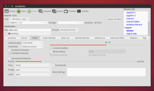 Como instalar a versão mais recente do HandBrake no Ubuntu