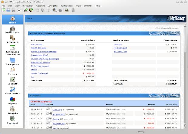 Como instalar o gerenciador financeiro KMyMoney no Ubuntu