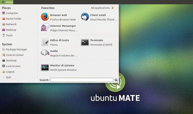 instalar o MintMenu no Ubuntu Mate