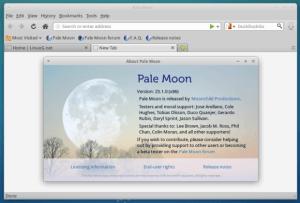 Como instalar o navegador Pale Moon no Linux manualmente