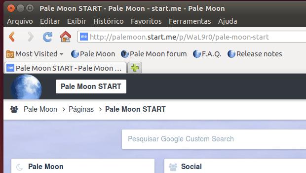 Como instalar o navegador Pale Moon no Ubuntu, Debian e derivados