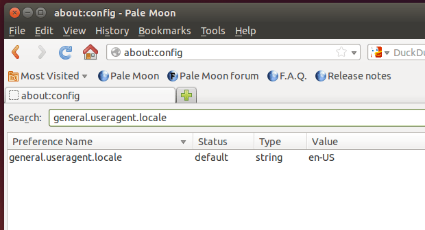 pale moon no linux