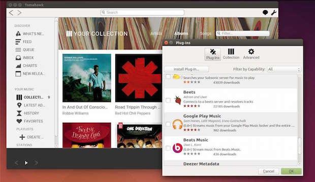 Como Instalar a versão mais recente do Tomahawk Music Player no Ubuntu