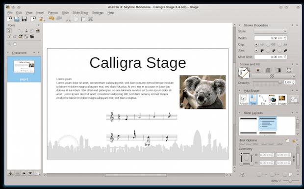 Outra alternativa ao Office: instale o Calligra Suíte no Ubuntu
