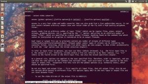 11 comandos Avconv para gravar, converter e extrair vídeos e áudio no Linux
