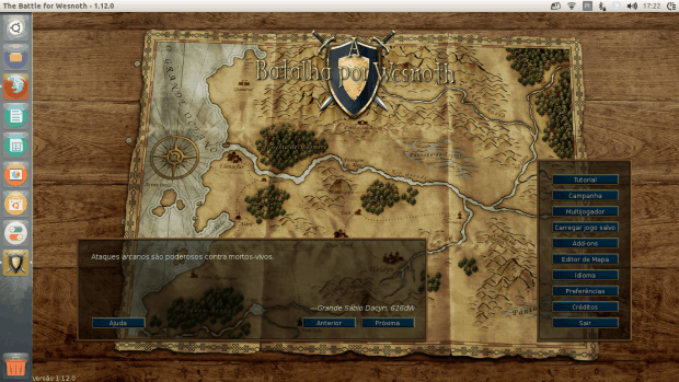 Como instalar o jogo The Battle for Wesnoth no Ubuntu