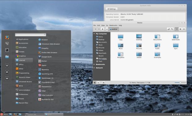 cinnamon ubuntu1404 - openSUSE Education Li-f-e já está disponível para download