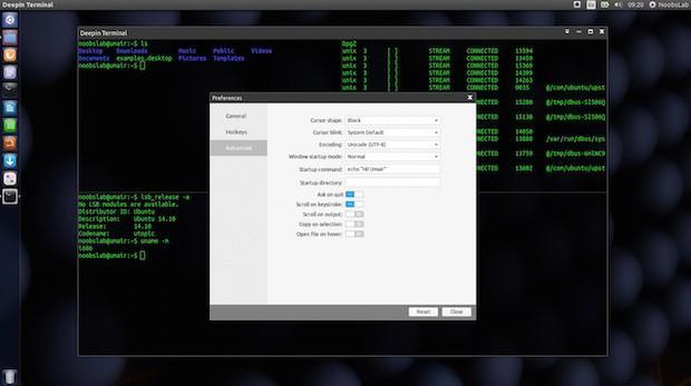 deepin terminal ubuntu