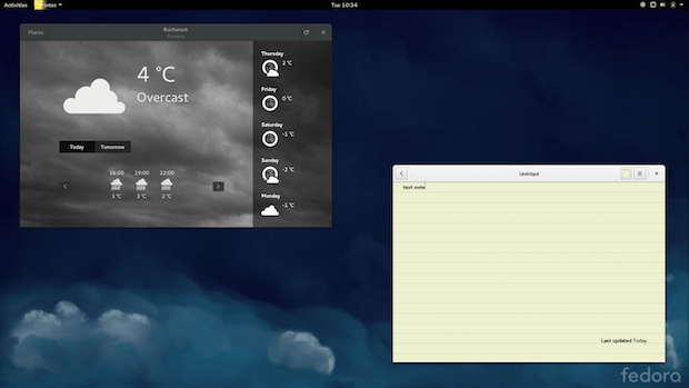 fedora21-weather-bijiben