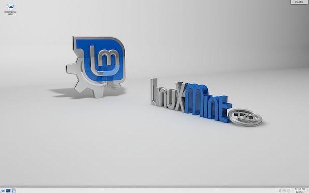 Mint 17.1 com os ambientes KDE e XFCE