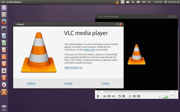 Como instalar o VLC media player 3.0.0 e 2.2.0 + skins (peles) no Ubuntu