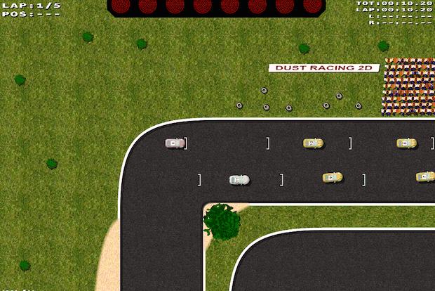 Como instalar a última versão do jogo Dust Racing 2D no Ubuntu