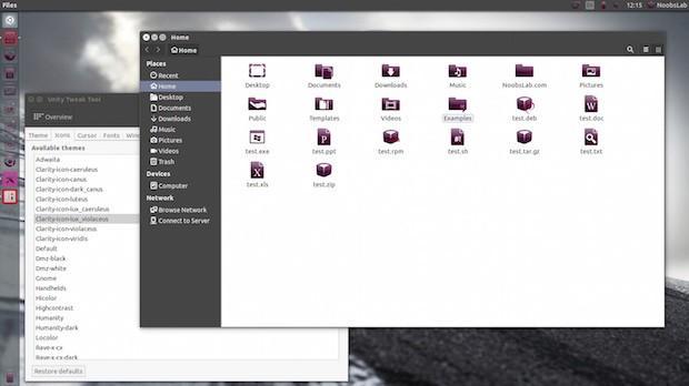 Instalando o conjunto de ícones Clarity no Ubuntu
