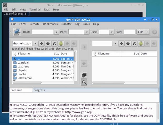 Como instalar o cliente FTP gFTP no Ubuntu