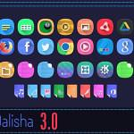 Instalando o conjunto de ícones Dalisha no Ubuntu