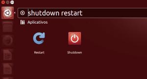 Desligar e reiniciar no Dash: veja como adicionar essas e outras opções na busca padrão do Unity