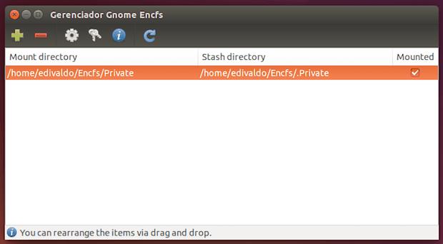 criptografia de arquivos encfs