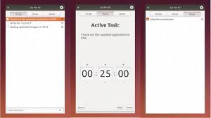 Lista de coisas para fazer: Instale Go For It um To-Do List com timer