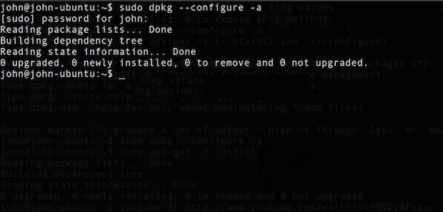 Pacotes quebrados: veja como corrigir isso em sistemas baseados no Debian