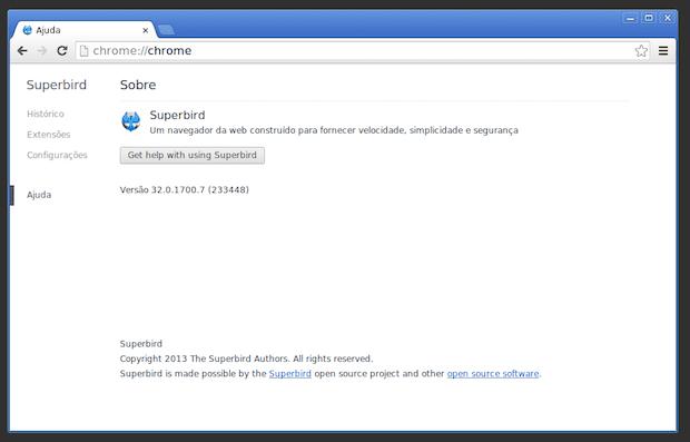 Alternativa ao Chrome: instalando o Superbird Browser no Debian, Ubuntu e openSUSE