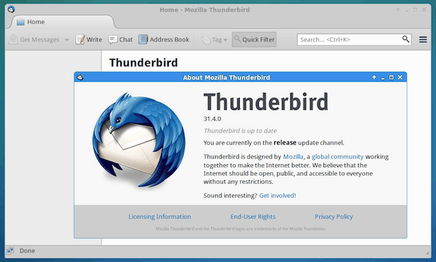 thunderbird 38 beta