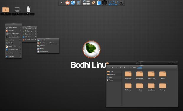bodhi linux 300