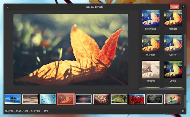visualizador de imagens gThumb