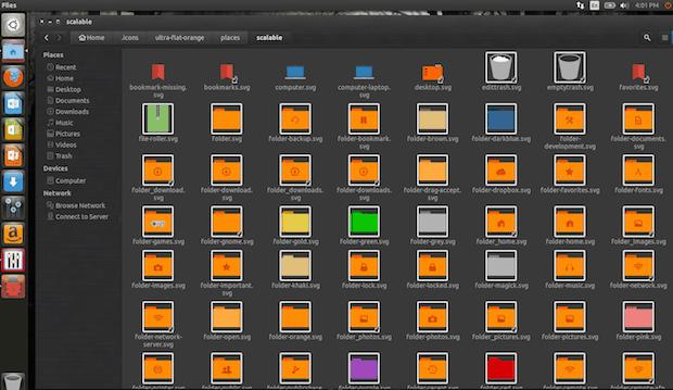 Instale o conjunto de ícones Ultra-Flat no Ubuntu, Debian e derivados