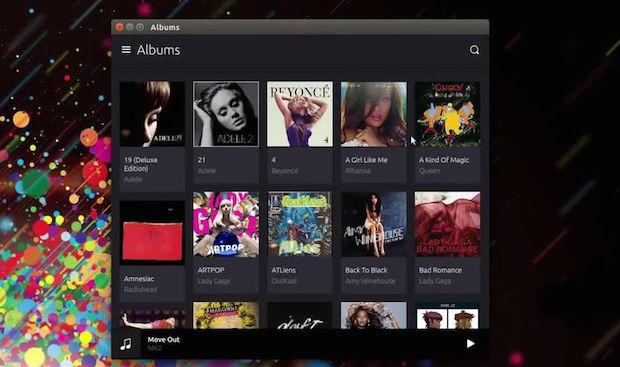Music App no Ubuntu