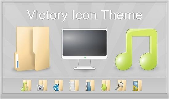 Como instalar o conjunto de ícones Victory
