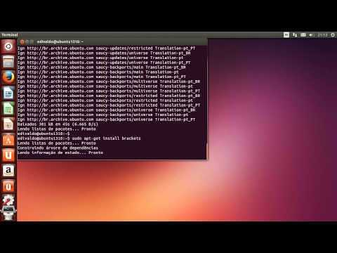 Instalando o Brackets no Ubuntu e derivados