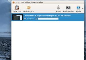 4K Video Downloader no Linux