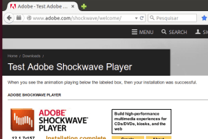 Como instalar o Adobe Shockwave Player no Linux