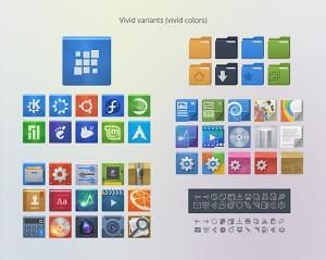 Instalando o conjunto de ícones Evolvere no Ubuntu