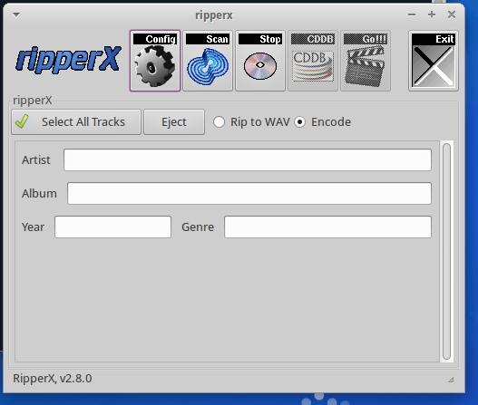 Ripar áudio - Como instalar o RipperX no Ubuntu, Debian e seus derivados