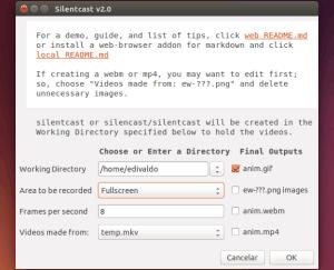 Como fazer uma gravação de tela e gerar GIF animado ou vídeo