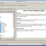 Como instalar o SubDownloader no Ubuntu para baixar legendas