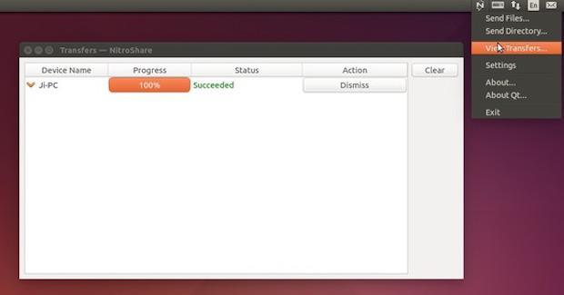 Como instalar o app de transferência de arquivos NitroShare