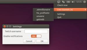 Instale o Twitch Indicator e rastreie os canais que você segue no Twitch