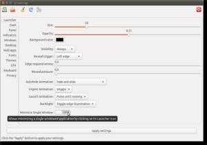 Como instalar a ferramenta de configuração Unsettings no Ubuntu