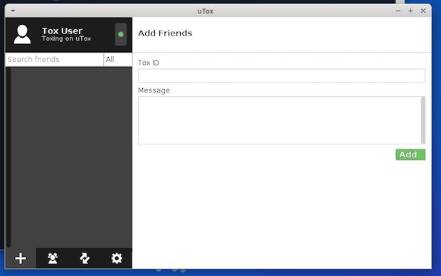 Como instalar o mensageiro seguro uTox no Ubuntu, Debian e derivados