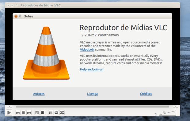 vlc 2.2.0 no ubuntu 14.04