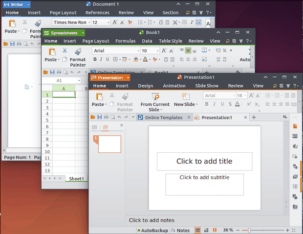 Instale e experimente o novo Alpha15 do WPS Office para Linux